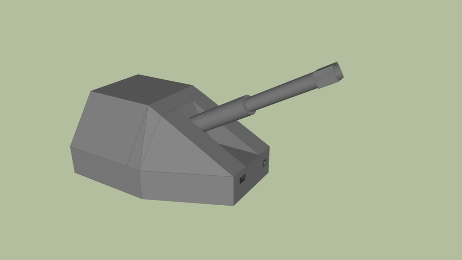 Single Gun Turret