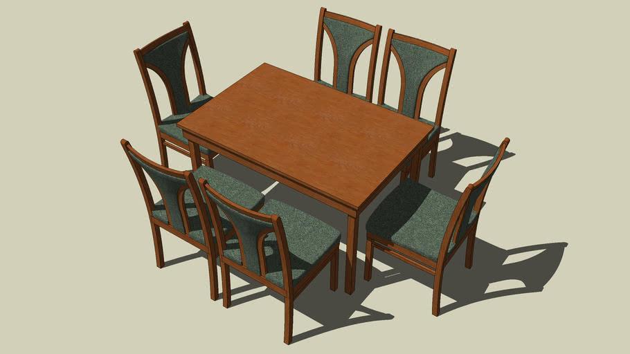 Esstisch mit 6 Stühlen_Vers._006