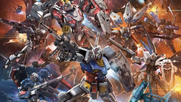 Gundam Models by Jake Loh