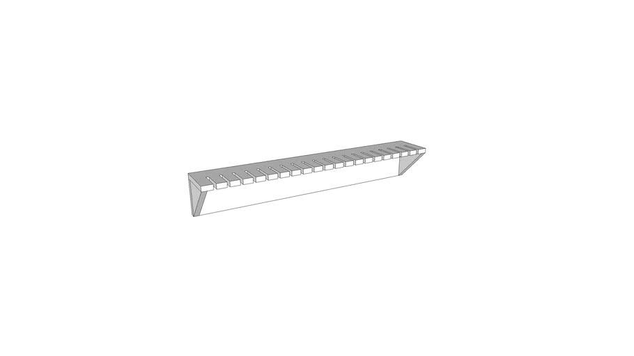 Simple Bar Clamp Rack