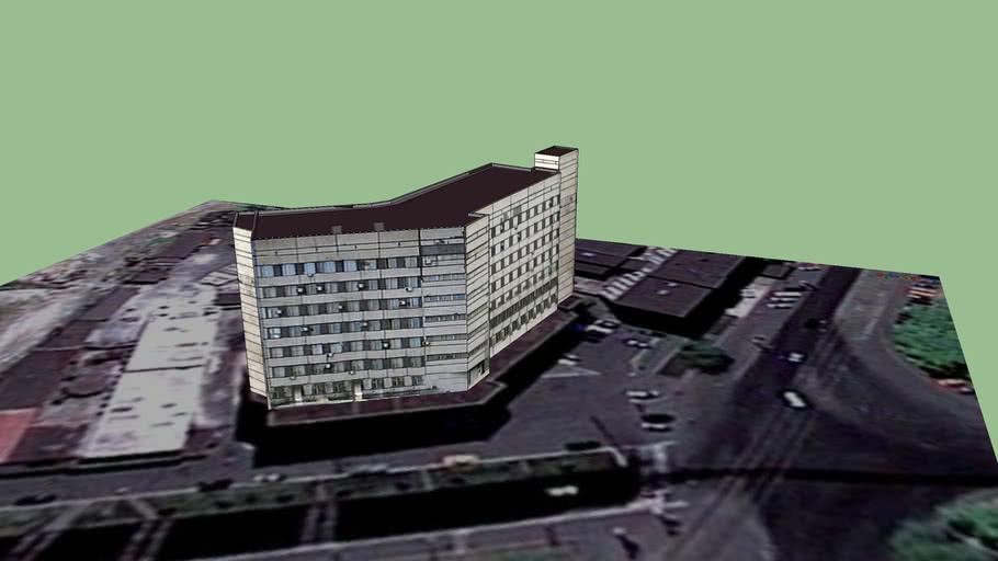 Здание возле проходной ДМК