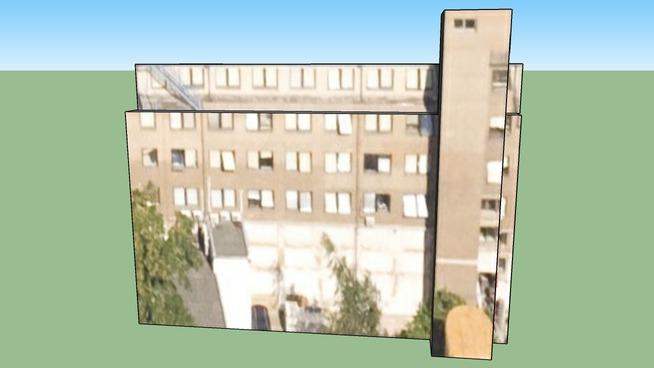 Budova, Na Žertvách 22, Praha 8, Česká republika