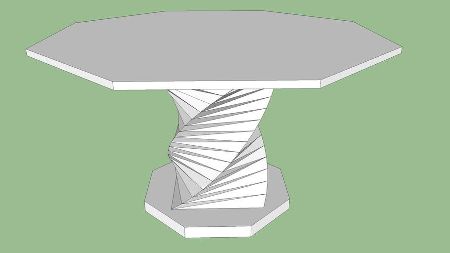 Octogonal Table