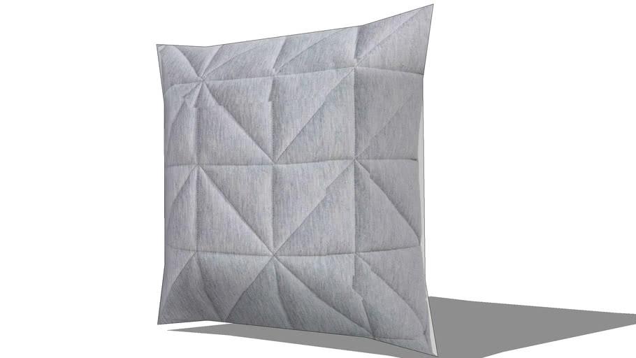 Coussin graphique gris 45x45cm NEO REF 168797 PRIX 25.90€