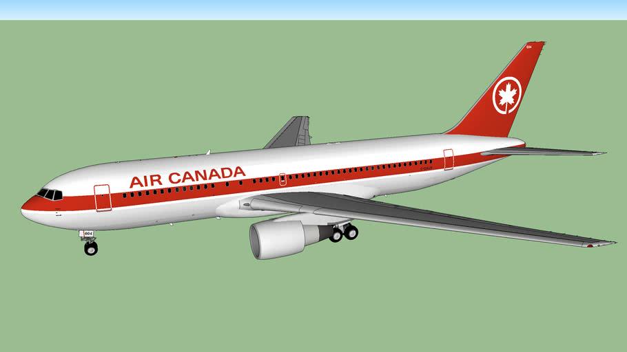 "Air Canada 767-233 ""Gimli Glider"" (1983)"