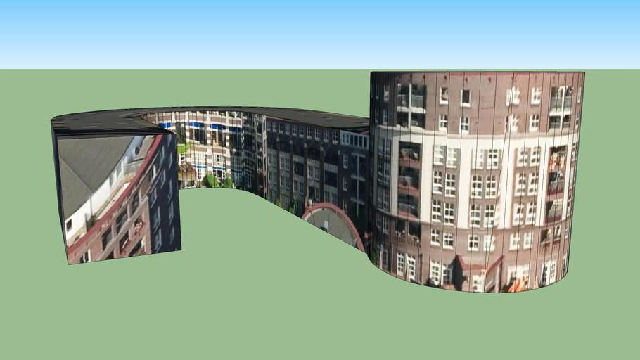Zgrada u 1051 HK Amsterdam, Nizozemska