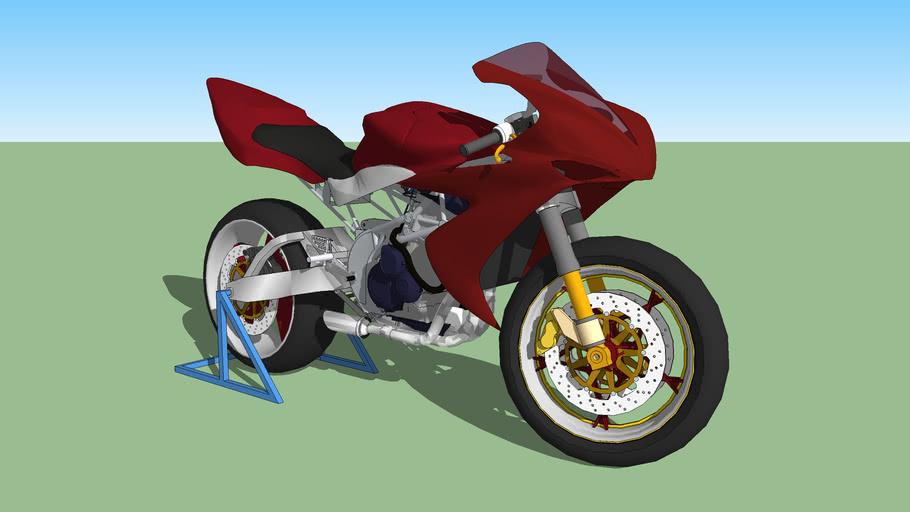 Yamaha R1 lap mod