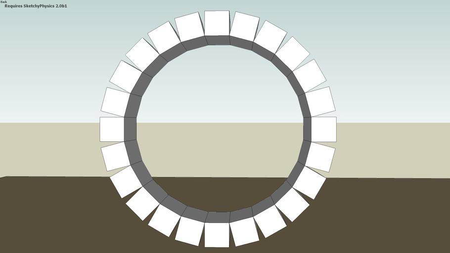 morphing circle