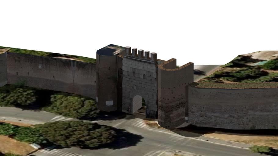 Porta Latina (Murallas Aurelianas - Roma)