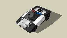 Cars and Tracks Put into 3D RAD