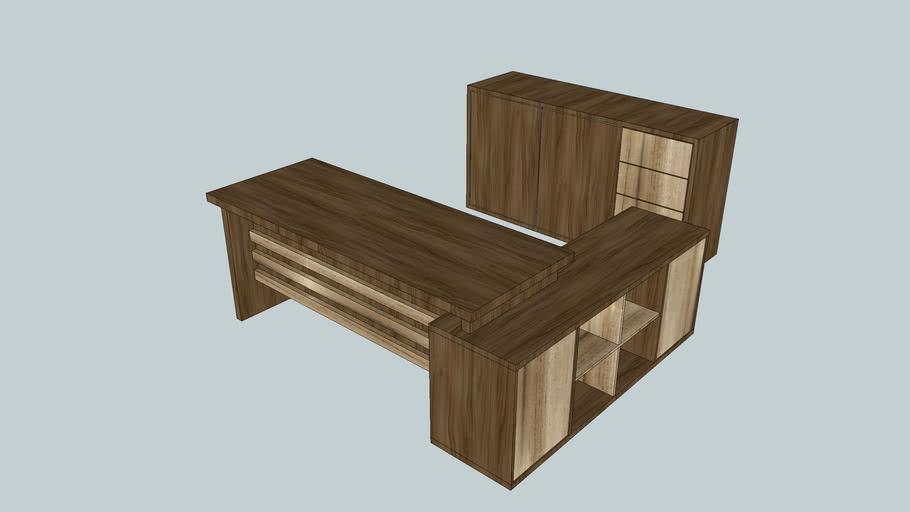 Mesa para escritorio e balcao