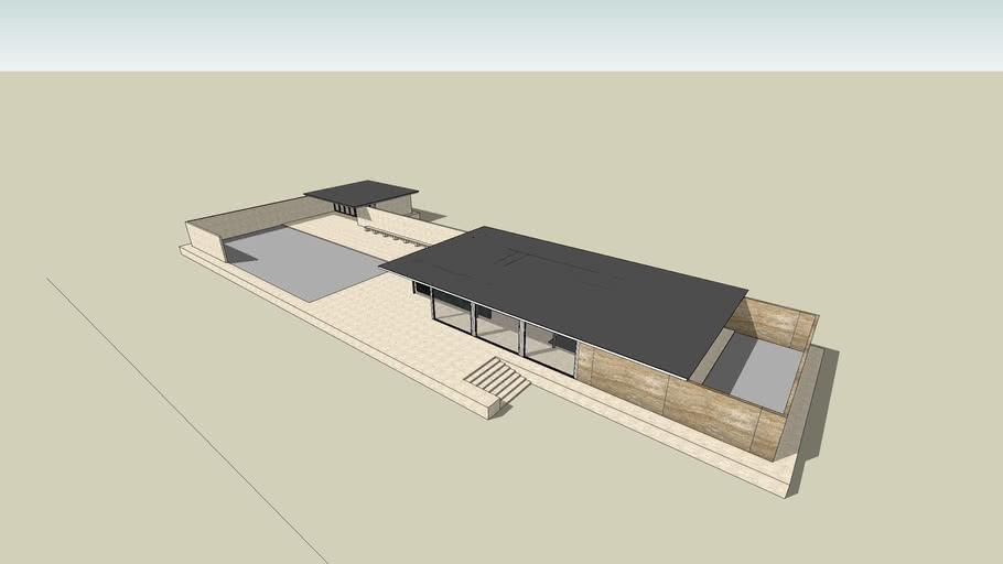Barcelona Pavilion 3d Warehouse