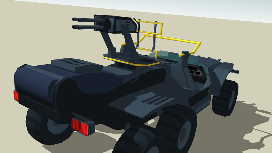 RDA's heavy armed offroader *SketchyPhysics*
