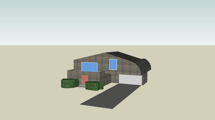 House (No Interior)