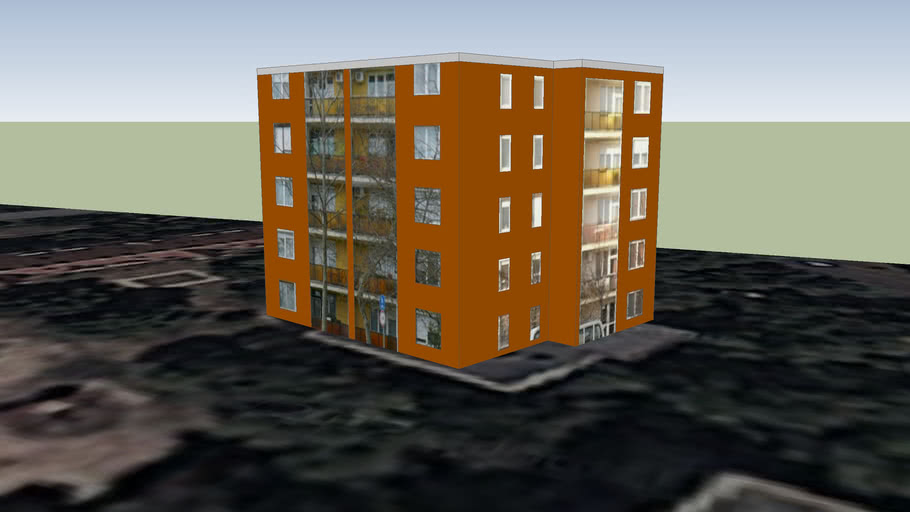 Building in Debrecen, Hugnary