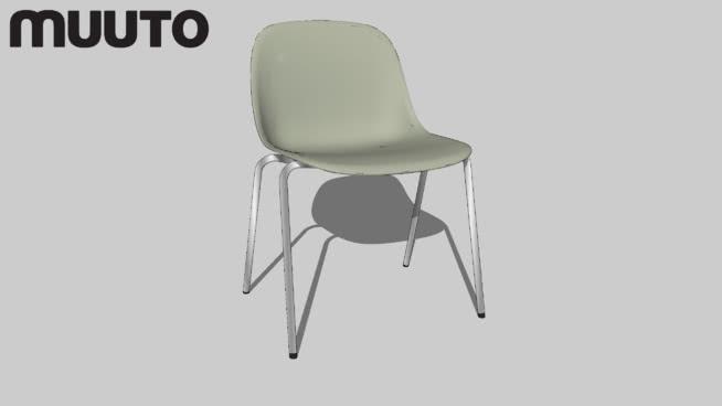 Muuto ChairSide | FIBER A-base