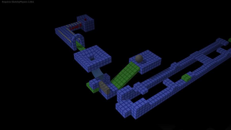 Marble Game 05 - Sketchyphysics 2 Beta