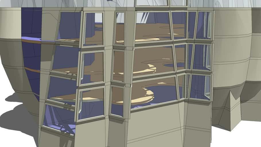 """Window Experiment for another glass """"box"""" bldg"""