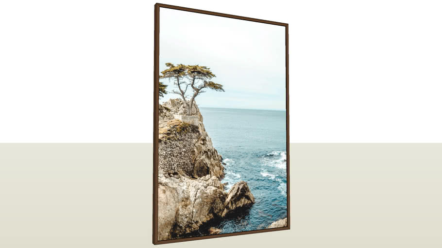 The Lone Cypress - California | VIK ART