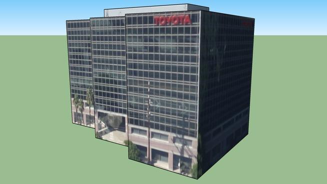 Épület itt: Los Angeles, Kalifornia, Amerikai Egyesült Államok