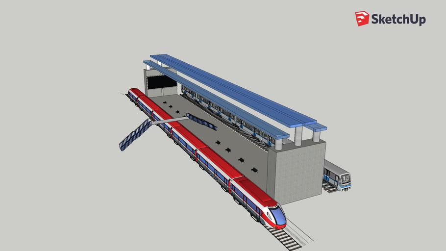 Train Station #001