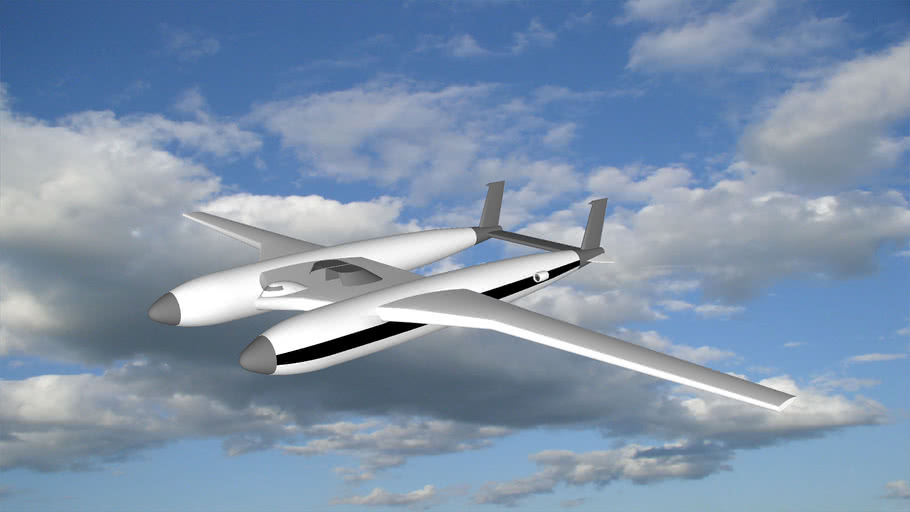 Fuel-Less Gravity Powered Airplane