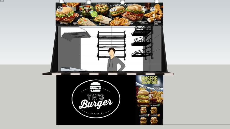 Hamburger stall