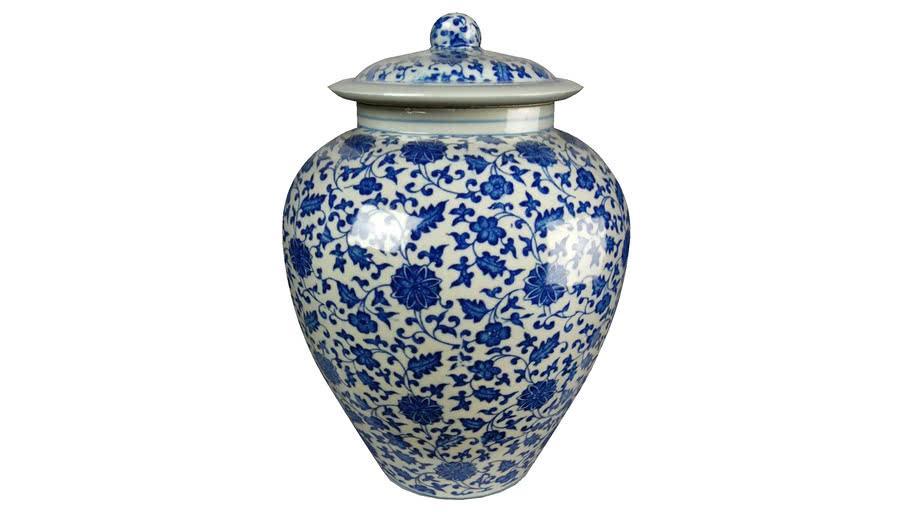 jar vase chine