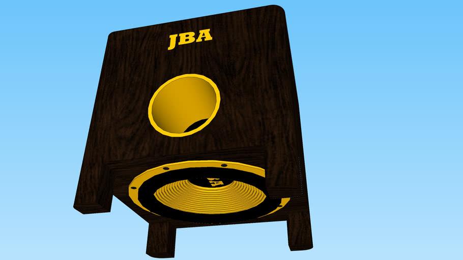 JBA BASS REFLEX SUBWOOFER