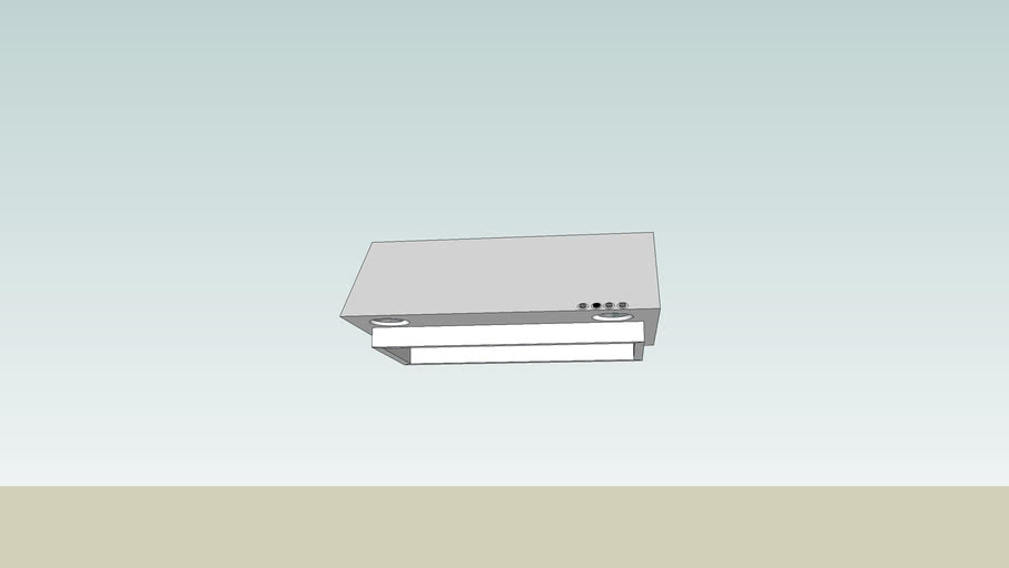 Hood Vent, Ductless