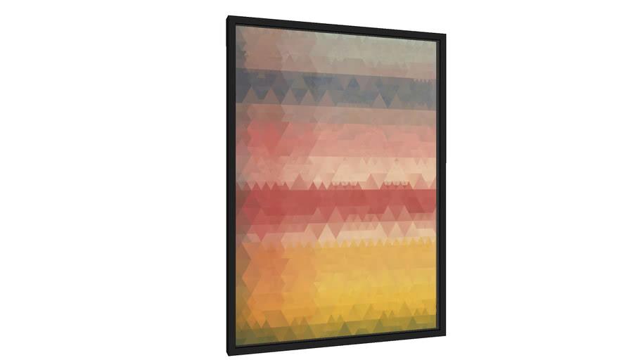 Quadro Composição Abstrata 566 - Galeria9, por Estevez