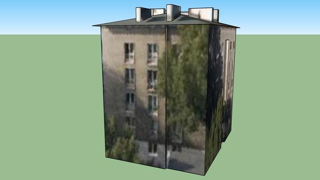 Budynek mieszkalny przy Staszica, Warszawa, Polska