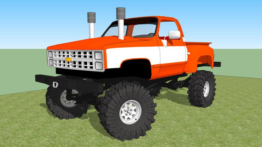 Chevy Stepside Mud Truck