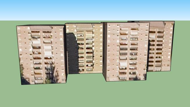 Edificio de viviendas en Madrid, España