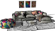 Cadeiras, poltronas e sofás