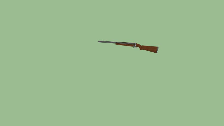 2 barrelled shotgun