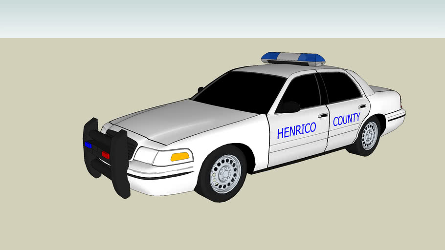 henrico county police car unit