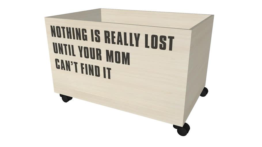 ÚLOŽNÝ BOX NOTHING IS LOST BELLA ROSA