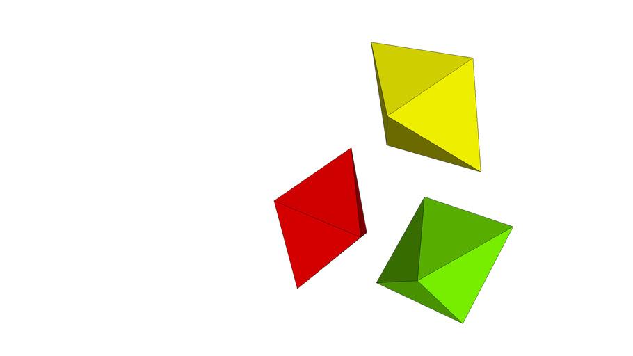 Pyramid from Cube