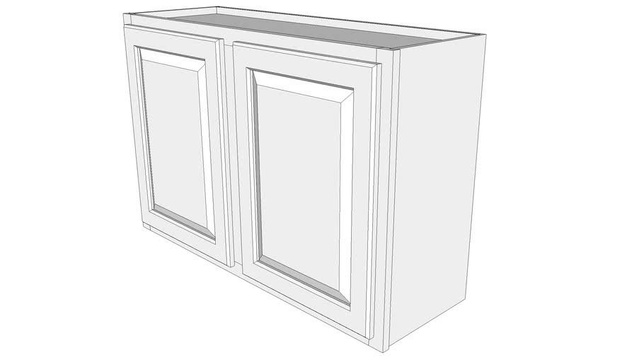 "Briarwood Wall Cabinet W3624 - 12"" Deep, Two Doors"