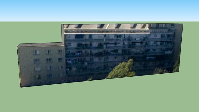 Edifício da Marselha, França