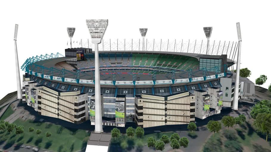 Melbourne Cricket Ground Stadium - 'MCG'   3D Warehouse
