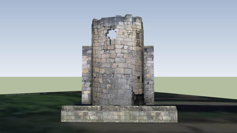 St Mary's Abbey Precinct Tower