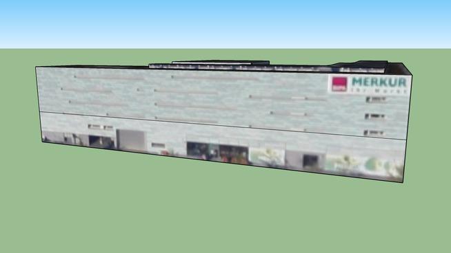 6020奥地利的建筑模型