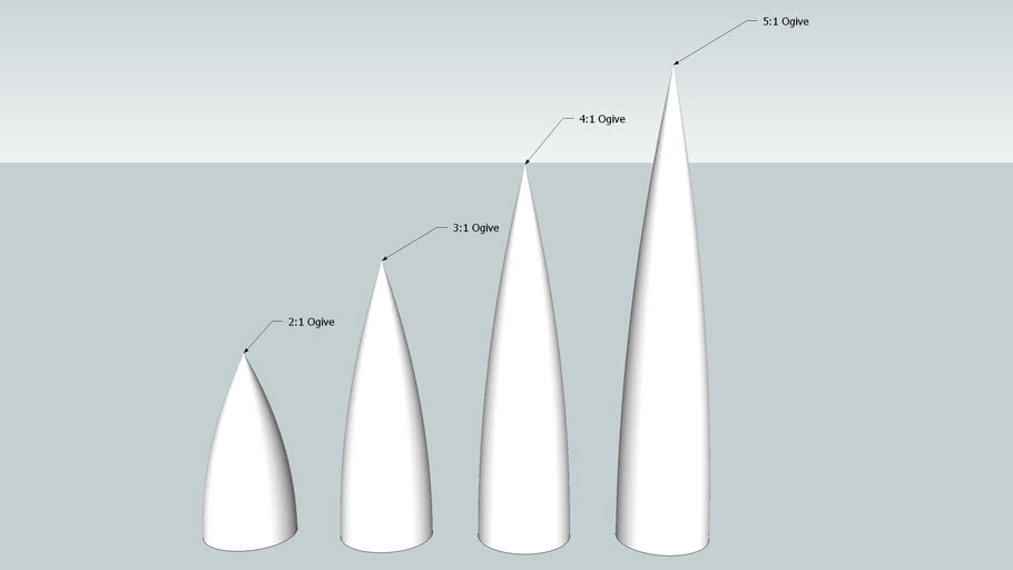 Ogive Nosecones