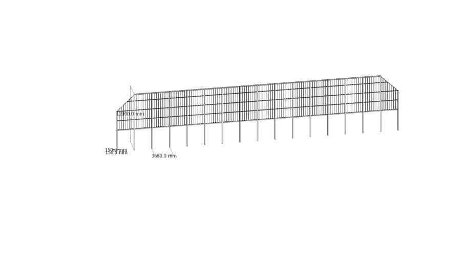 masood villa fence