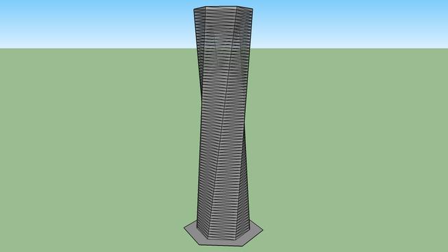Hexagonal Twist Tower