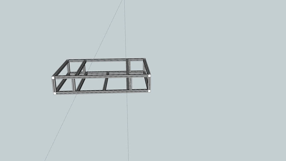 Swerve Final Chassis Frame