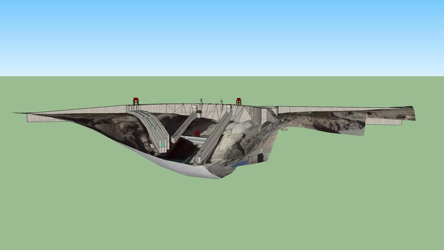 龙羊峡水电站