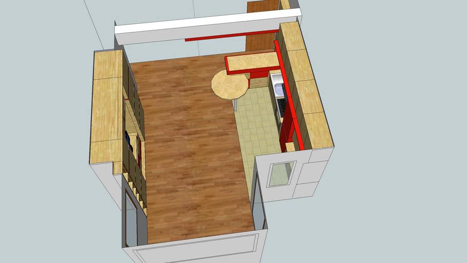 open space room